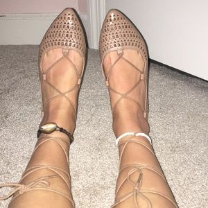 Mossimo Supply Co. Shoes - Lace up sandals